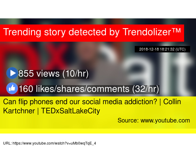 Can flip phones end our social media addiction? | Collin