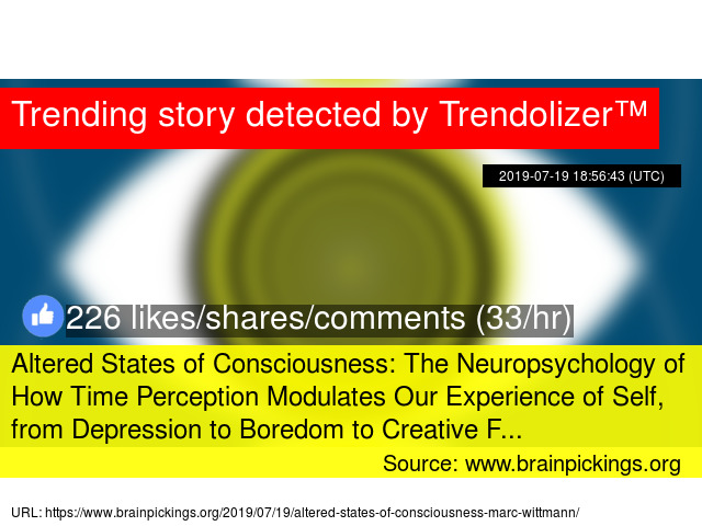 Altered States of Consciousness: The Neuropsychology of How