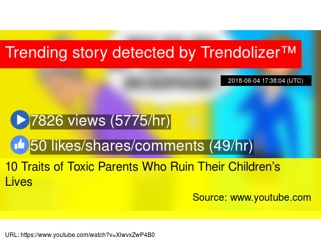 10 Traits of Toxic Parents Who Ruin Their Children's Lives